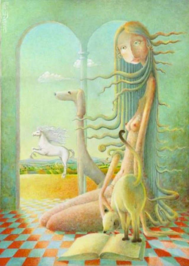 The White Horse di Giuseppe Mariotti