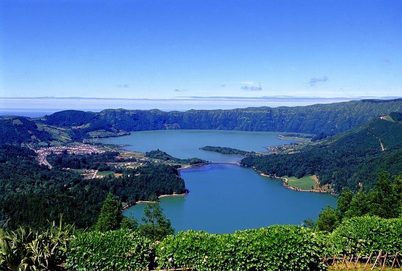 Lago di Sete Citates Isola di Sao Miguel