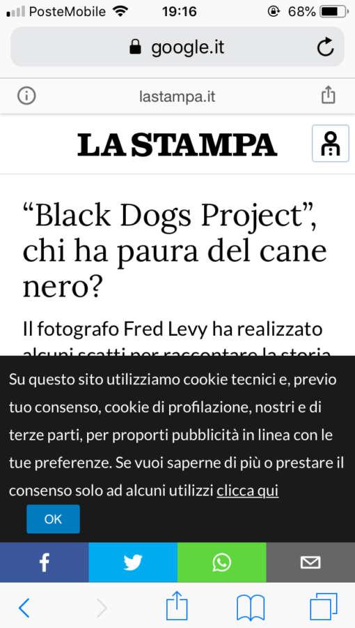 Sindrome del cane nero