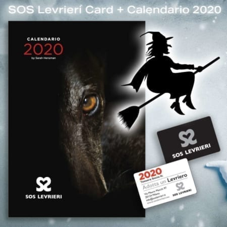 SOS Levrieri Card - Calendario 2020